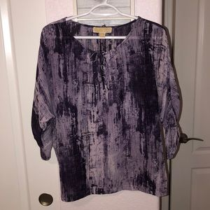 Michael Michael Kors Purple Blouse